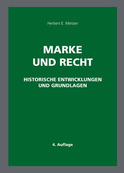 Marke und Recht von Meister,  Herbert E.