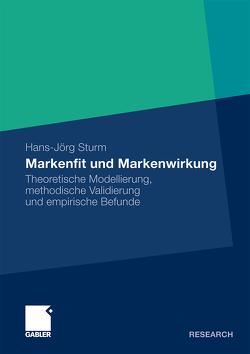 Markenfit und Markenwirkung von Sturm,  Hans-Jörg