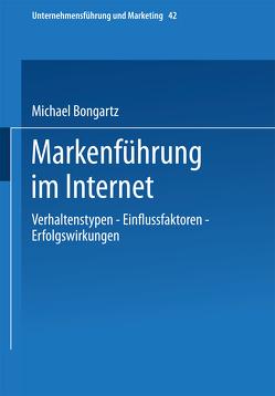Markenführung im Internet von Bongartz,  Michael