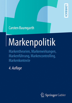 Markenpolitik von Baumgarth,  Carsten