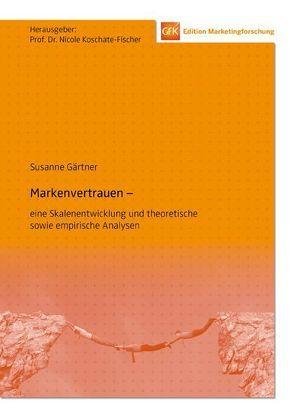 Markenvertrauen von Gärtner,  Susanne, Koschate-Fischer,  Nicole