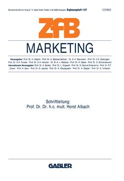 Marketing von Albach,  Horst