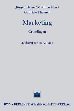Marketing von Hesse,  Jürgen, Neu,  Matthias, Theuner,  Gabriele