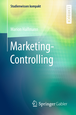 Marketing-Controlling von Halfmann,  Marion