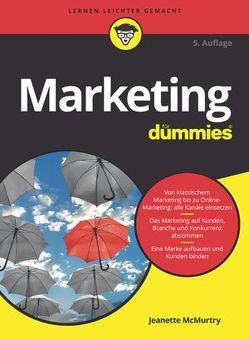 Marketing für Dummies von Fehn,  Oliver, McMurtry,  Jeanette, Strahl,  Hartmut