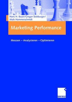 Marketing Performance von Bauer,  Hans, Hammerschmidt,  Maik, Stokburger,  Gregor
