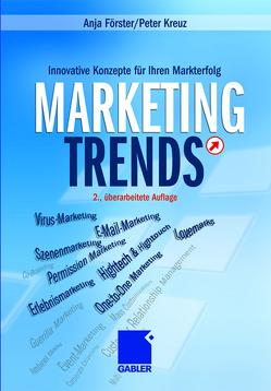 Marketing-Trends von Förster,  Anja, Kreuz,  Peter