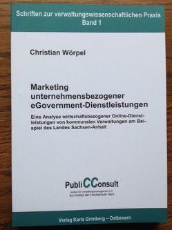 Marketing unternehmensbezogener eGovernment-Dienstleistungen von Stember,  Jürgen