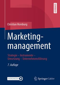 Marketingmanagement von Homburg,  Christian
