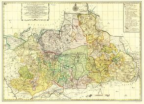 Historische Karte: MARKGRAFSCHAFT NIEDERLAUSITZ 1757 [gerollt] von Rockstuhl,  Harald, Schenk,  Peter
