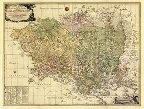 Historische Karte: MARKGRAFSCHAFT OBERLAUSITZ 1759 [gerollt] von Rockstuhl,  Harald, Schenk,  Peter