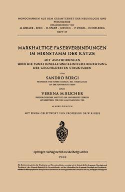 Markhaltige Faserverbindungen im Hirnstamm der Katze von Bucher,  V. M., Bürgi,  S., Hess,  W. R.