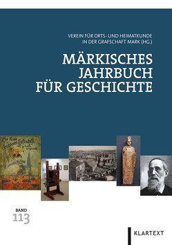 Märkisches Jahrbuch für Geschichte 113 von Pätzold,  Stefan, Priester,  Hardy, Schmidt-Rutsch,  Olaf, Thier,  Dietrich