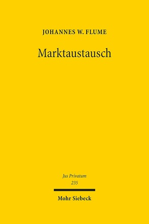 Marktaustausch von Flume,  Johannes W.