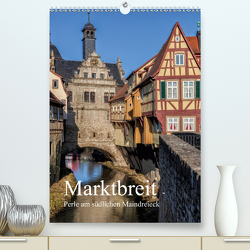 Marktbreit – Perle am südlichen Maindreieck (Premium, hochwertiger DIN A2 Wandkalender 2021, Kunstdruck in Hochglanz) von Will,  Hans