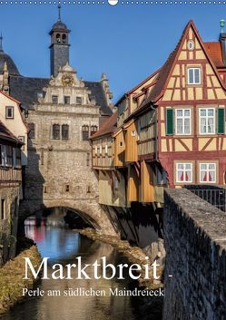 Marktbreit – Perle am südlichen Maindreieck (Wandkalender 2019 DIN A2 hoch) von Will,  Hans
