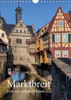 Marktbreit – Perle am südlichen Maindreieck (Wandkalender 2019 DIN A4 hoch) von Will,  Hans
