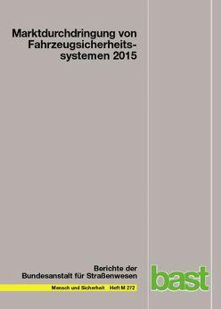 Marktdurchdringung von Fahrzeugsicherheitssystemen 2015 von Gruschwitz,  Dana, Hölscher,  Jana, Raudszus,  Dominik, Zlocki,  Adrian