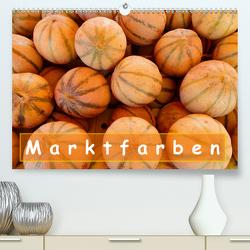 Marktfarben (Premium, hochwertiger DIN A2 Wandkalender 2020, Kunstdruck in Hochglanz) von Huwer,  Christine