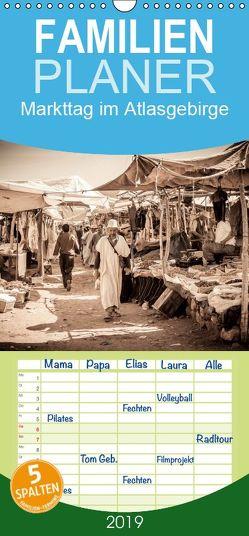 Markttag im Atlasgebirge – Familienplaner hoch (Wandkalender 2019 , 21 cm x 45 cm, hoch) von Speicher,  Frank