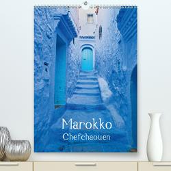 Marokko – Chefchaouen (Premium, hochwertiger DIN A2 Wandkalender 2020, Kunstdruck in Hochglanz) von Leonhardy,  Thomas