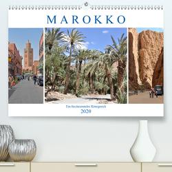 MAROKKO, ein faszinierendes Königreich (Premium, hochwertiger DIN A2 Wandkalender 2020, Kunstdruck in Hochglanz) von Senff,  Ulrich