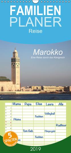 Marokko – Eine Reise durch das Königreich – Familienplaner hoch (Wandkalender 2019 , 21 cm x 45 cm, hoch) von Nerlich,  Cornelia