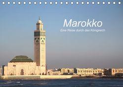 Marokko – Eine Reise durch das Königreich (Tischkalender 2019 DIN A5 quer) von Nerlich,  Cornelia