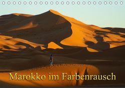 Marokko im Farbenrausch (Tischkalender 2019 DIN A5 quer) von Müller,  Erika