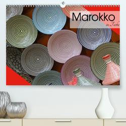 Marokko in Farbe (Premium, hochwertiger DIN A2 Wandkalender 2021, Kunstdruck in Hochglanz) von Flori0