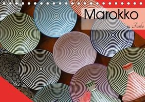 Marokko in Farbe (Tischkalender 2018 DIN A5 quer) von Flori0