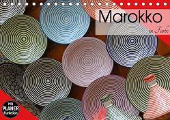 Marokko in Farbe (Tischkalender 2019 DIN A5 quer) von Flori0