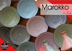 Marokko in Farbe (Wandkalender 2019 DIN A2 quer) von Flori0