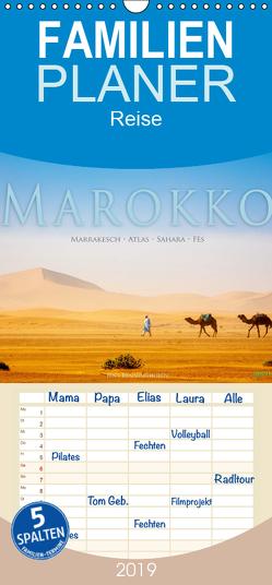 Marokko: Marrakesch, Atlas, Sahara, Fès – Familienplaner hoch (Wandkalender 2019 , 21 cm x 45 cm, hoch) von Benninghofen,  Jens