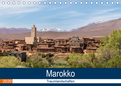 Marokko Traumlandschaften (Tischkalender 2020 DIN A5 quer) von Dürr,  Brigitte