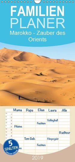 Marokko – Zauber des Orients – Familienplaner hoch (Wandkalender 2019 , 21 cm x 45 cm, hoch) von Rusch - www.w-rusch.de,  Winfried