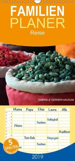 Marokkos Farben – Familienplaner hoch (Wandkalender 2019 <strong>21 cm x 45 cm</strong> hoch) von Gerner-Haudum,  Gabriele
