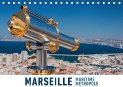 Marseille Maritime Metropole (Tischkalender 2019 DIN A5 quer) von Ristl,  Martin
