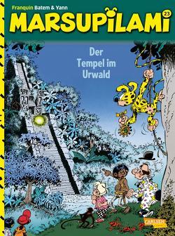 Marsupilami 23: Der Tempel im Urwald von Bâtem, Franquin,  André, Le Comte,  Marcel, Yann