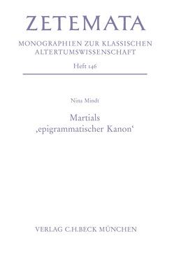 Martials 'epigrammatischer Kanon' von Mindt,  Nina