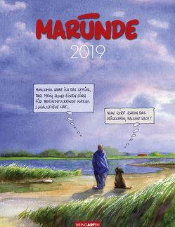 Marunde – Kalender 2019 von Marunde,  Wolf-Rüdiger, Weingarten