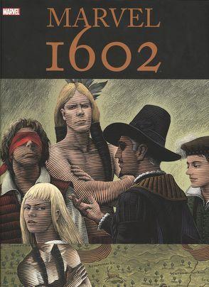 Marvel 1602 Deluxe von Ditko,  Steve, Gaiman,  Neil, Kubert,  Andy, Kups,  Steve, Schweizer,  Renhard