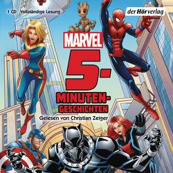 Marvel 5-Minuten-Geschichten von Albrecht,  Anke, Diverse, Zeiger,  Christian