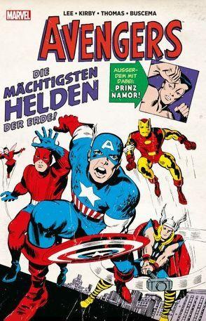 Marvel Klassiker: Avengers von Buscema,  John, Buscema,  Sal, Kirby,  Jack, Lee,  Stan, Strittmatter,  Michael, Thomas,  Roy, Windsor-Smith,  Barry