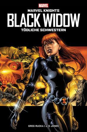 Marvel Knights: Black Widow: Tödliche Schwestern von Grayson,  Devin, Hampton,  Scott, Hidalgo,  Carolin, Jones,  J.G., Kordey,  Igor, Rucka,  Greg, Schwizer,  Reinhard