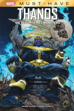 Marvel Must-Have: Thanos – Die Geburt eines Monsters von Aaron,  Jason, Bianchi,  Simone