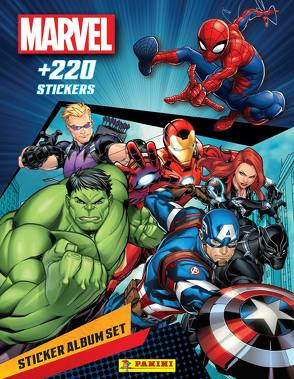 Marvel Spider-Man: Sticker Album Set