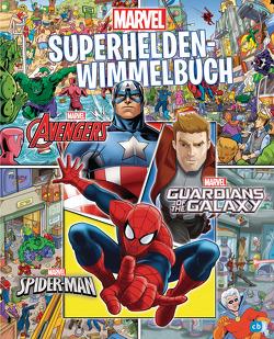 MARVEL – Superhelden-Wimmelbuch von Albrecht,  Anke