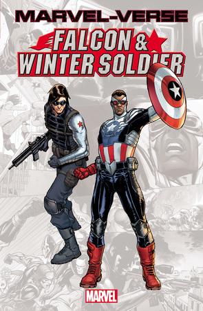 Marvel-Verse: Falcon & Winter Soldier von Brubaker,  Ed, Epting,  Steve