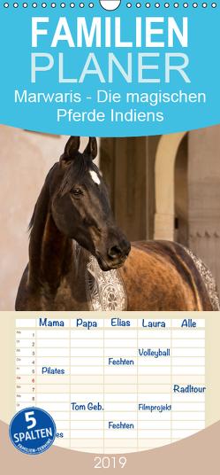 Marwaris – Die magischen Pferde Indiens – Familienplaner hoch (Wandkalender 2019 , 21 cm x 45 cm, hoch) von by MMK - Miriam Melanie Köhler,  Picstories